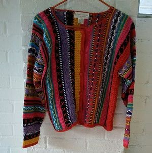 Casual Corner Embroidered Sweater